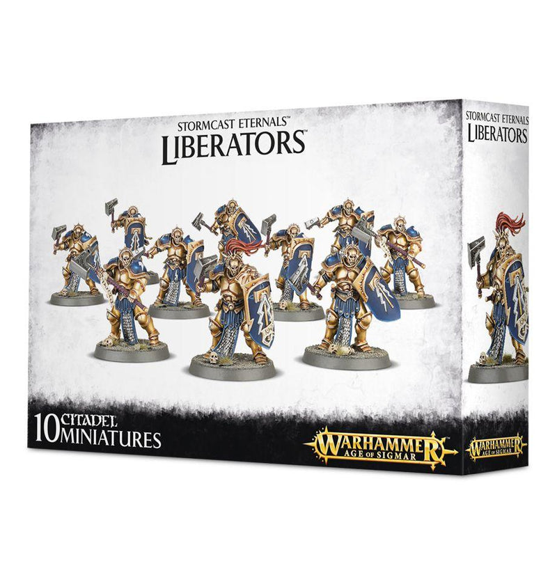 STORMCAST ETERNALS LIBERATORS-GAMES WORKSHOP- nuvolosofumetti.
