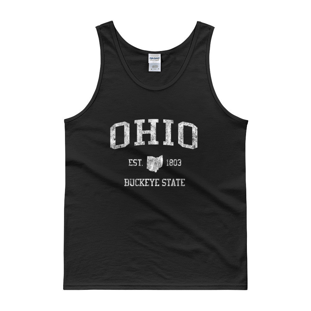 Vintage Ohio OH Tank Top Adult - JimShorts