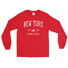 Vintage New York NY Adult Long Sleeve T-Shirt (Unisex) - JimShorts