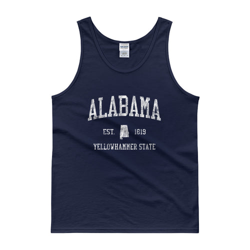 Vintage Alabama AL Tank Top Adult - JimShorts
