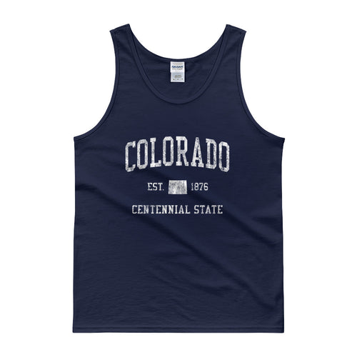 Vintage Colorado CO Tank Top Adult - JimShorts