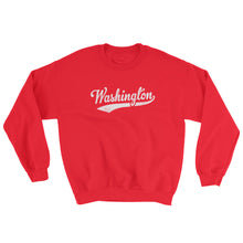Vintage Washington WA Sweatshirt with Script Tail Design Adult (Unisex) - JimShorts