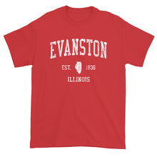 Vintage Evanston Illinois IL T-Shirt Adult