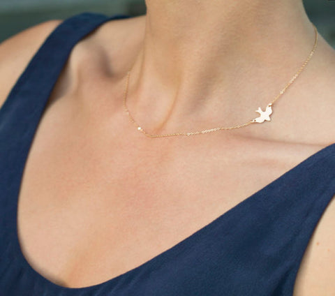 Image of CHIC INFINITY - CROSS LONG CHAIN PENDANT