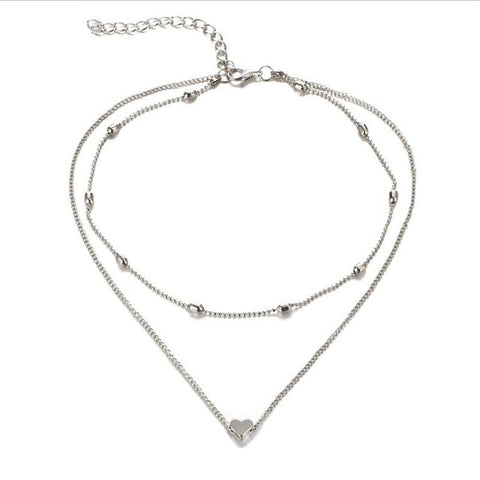 Image of HEART NECKLACE PENDANT