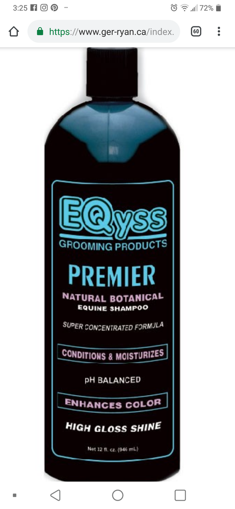 EQyss Premier Shampoo - Horse & Hound Tack Shop & Pet Supply
