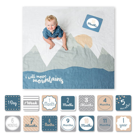 Lulujo Baby's First Year Set - I Will Move Mountains