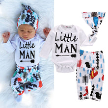"""Little Man"" Arrow Print 2-Piece Set - My Modern Kid"