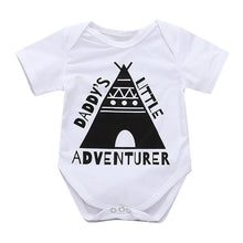 """Daddy's Little Adventurer"" Baby Onesie - My Modern Kid"