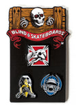 Blind Heritage Reissue Pin Pack