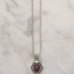 Satya Necklace Mini - Pink Tourmaline