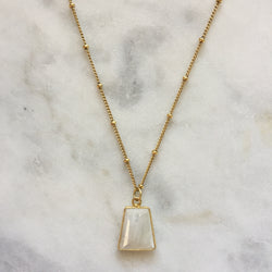 Goddess Necklace - Moonstone