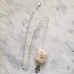 Protection Necklace - Moonstone