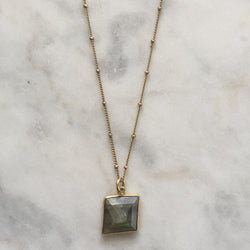 Transformation Necklace - Labradorite