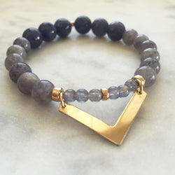 Movement with Intelligence Bracelet - Iolite