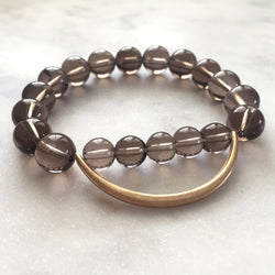 Still The Mind Bracelet - Smoky Quartz