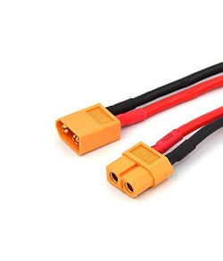 Pair XT60 XT-60 Male Female Bullet Connectors Power Plugs with Heat Shrink for RC Lipo Battery