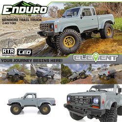 Enduro Trail Truck, Sendero RTR - in stock