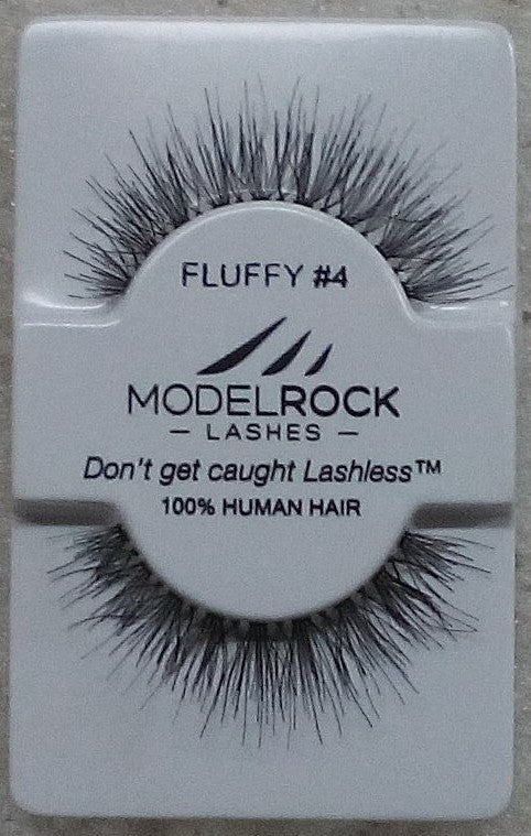 Model Rock Kit Ready Lashes - Fluffy Collection #4