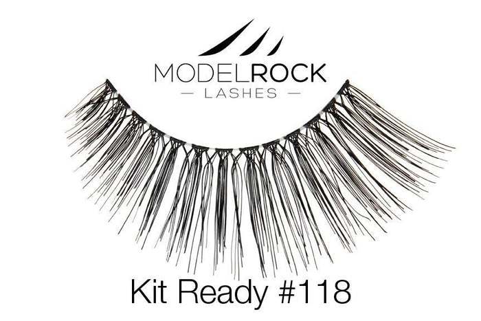 Model Rock Kit Ready Lashes #118