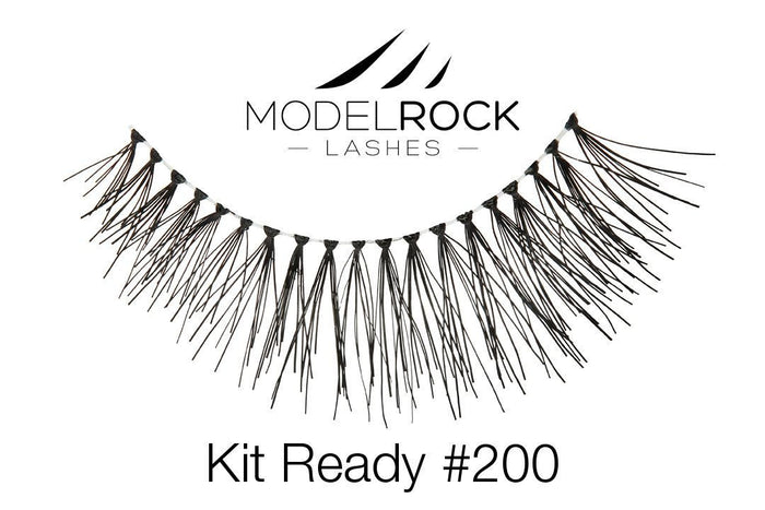 Model Rock Kit Ready Lashes #200