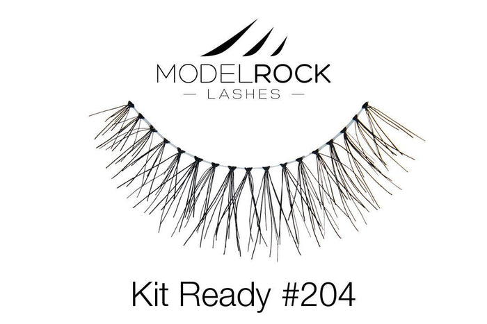 Model Rock Kit Ready Lashes #204