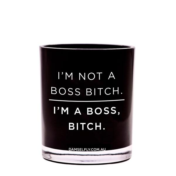 Boss Bitch - Damselfly Large Candle