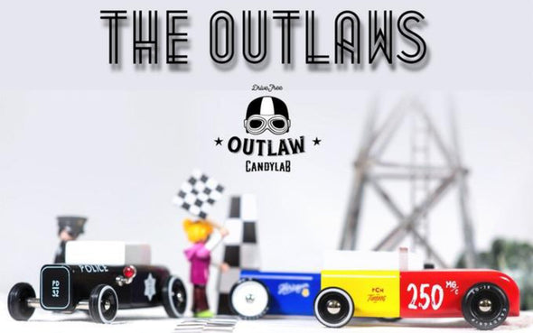 Outlaw Collection Hot Rods von Candylab Toys