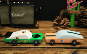 Spielzeug Muscle Cars aus Holz Candylab Toys