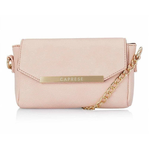 Caprese Women Casual Pink PU Sling Bag - Dista Cart
