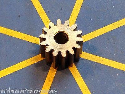 Sonic 64 Pitch 14 Tooth Drag Pinion Gear from Mid America Raceway 1/24 slot car