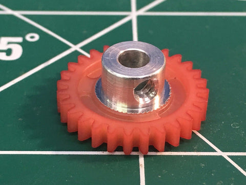 Kelly 4828 1/8 axle 48 Pitch 28 Tooth Spur Gear 1/24 slot Mid America Raceway