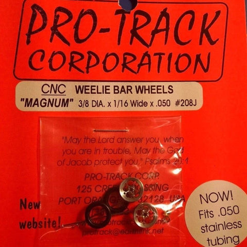 Pro-Track #208J Weelie Bar Wheels Magnum from Mid-America Naperville