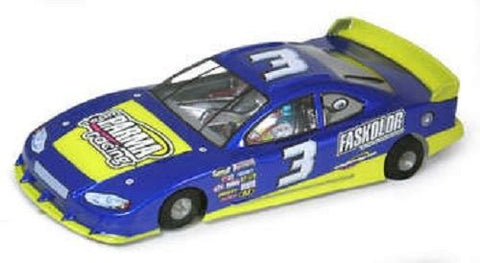"Parma 1/24 '08 COT Stock Car - 4.5"" WB .007"" Clear Body - #1055A Mid America"