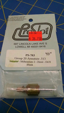 ProSlot PS-703 Group 20 Armature .513 40 from Mid America Naperville