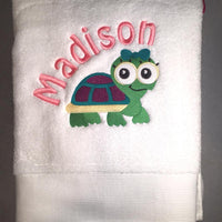 Embroidered Children's Towel