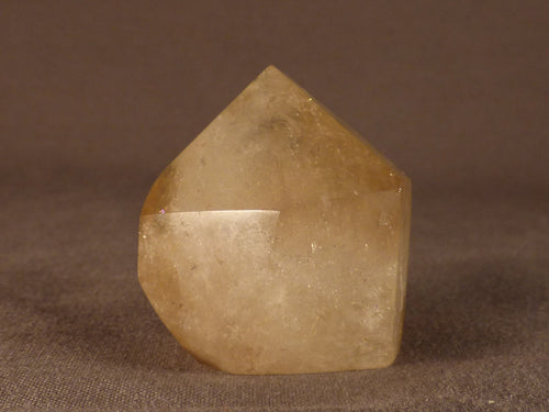 Polished Zambian Citrine Standing Crystal Point - 38mm, 50g