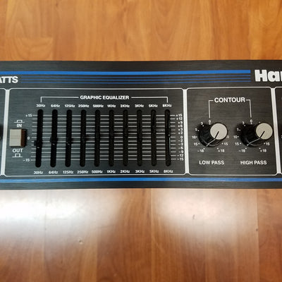 Hartke 2000 Transient Attack Bass Head
