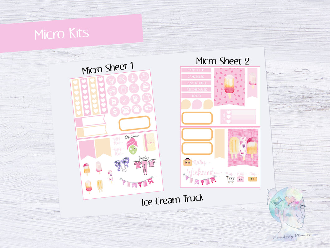 June Challenge Micro Mini Kit- Ice Cream Truck