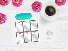 Disorderly Planner Custom Colored Full Box Planner Kit - Disorderly Planner Stickers