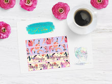 Flamingo Glitter Weekly Monthly Header