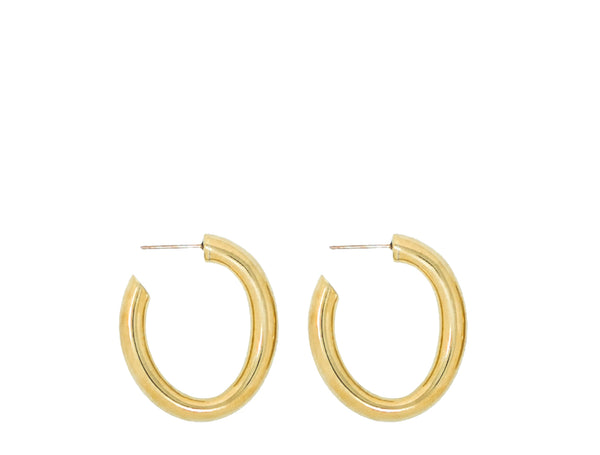 Laura Lombardi Mini Curve earrings at Rena Sala store