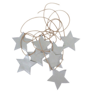 Star Garland Silver - In stock