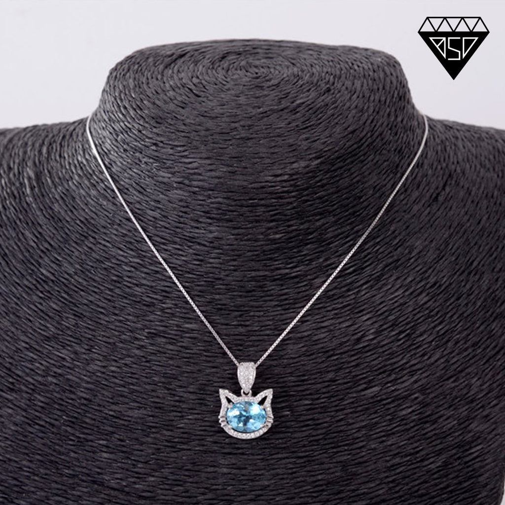 December Cat Lady S925 Pendant Necklace