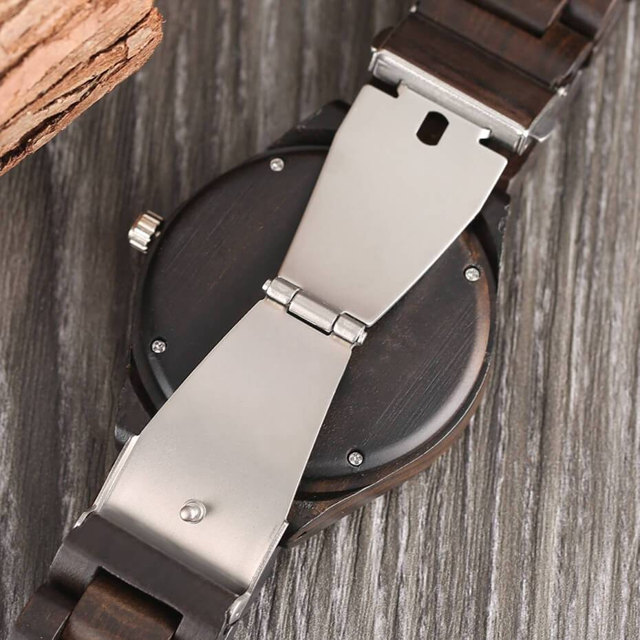 Personalised Message / All Wood Watch