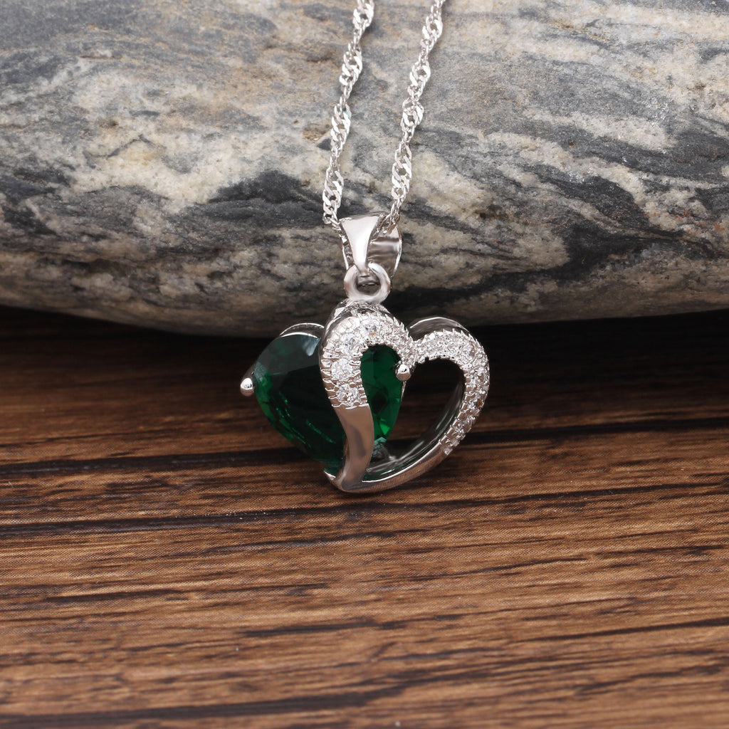Heart of May Pendant Necklace