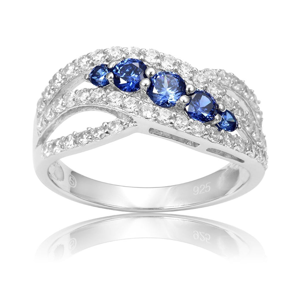 December 2.1ct Tanzanite Birthstone 925 Sterling Silver Ring