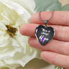 Fibromyalgia Awareness Pendant Necklace & Bangle