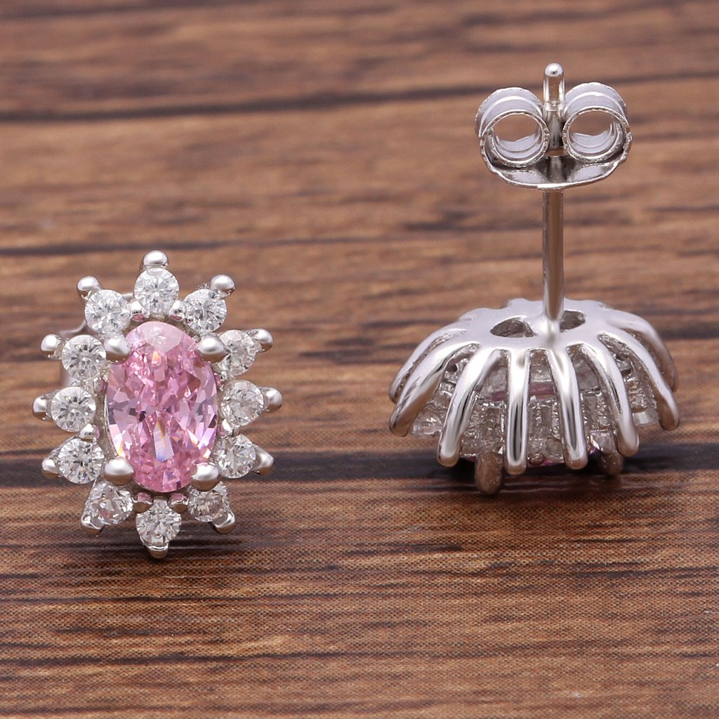 Princess Diana inspired Sterling Silver Earrings (October)