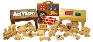 Things to consider with Baby Toys made from wood: